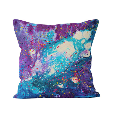 Stardust Throw Pillow - Louise Mead