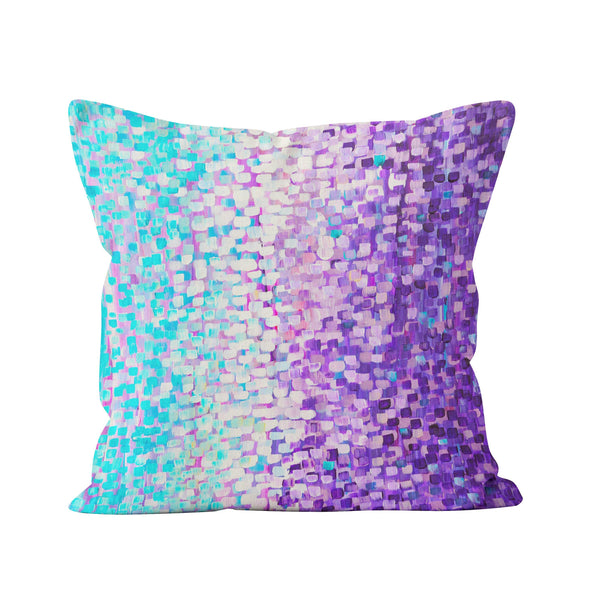Blue & Purple Cushion - Louise Mead