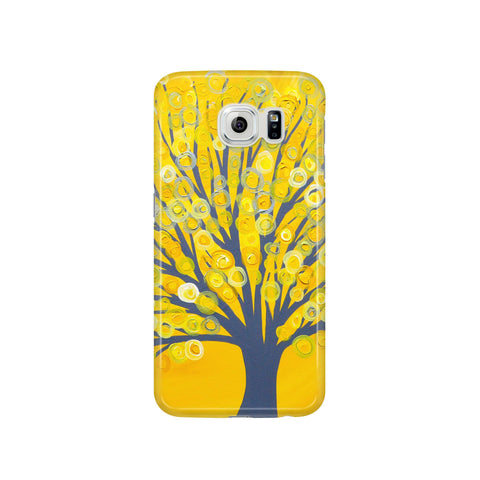 Yellow Tree Samsung Case - Louise Mead