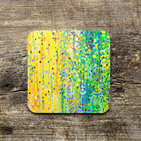 Yellow & Green Coasters - Louise Mead