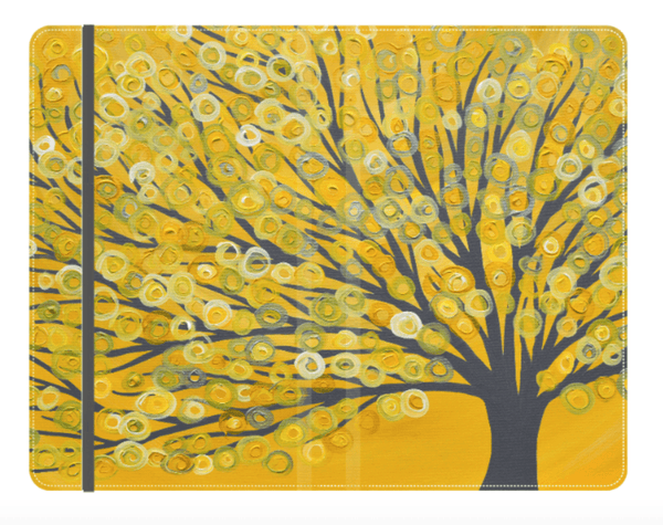 Yellow & Grey Tree Journal