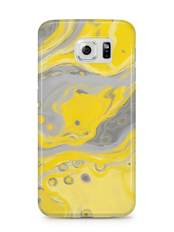 Yellow & Grey 'Zest' Samsung Case