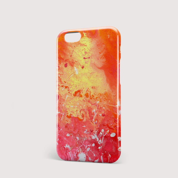 Red Hot iPhone Case - Louise Mead
