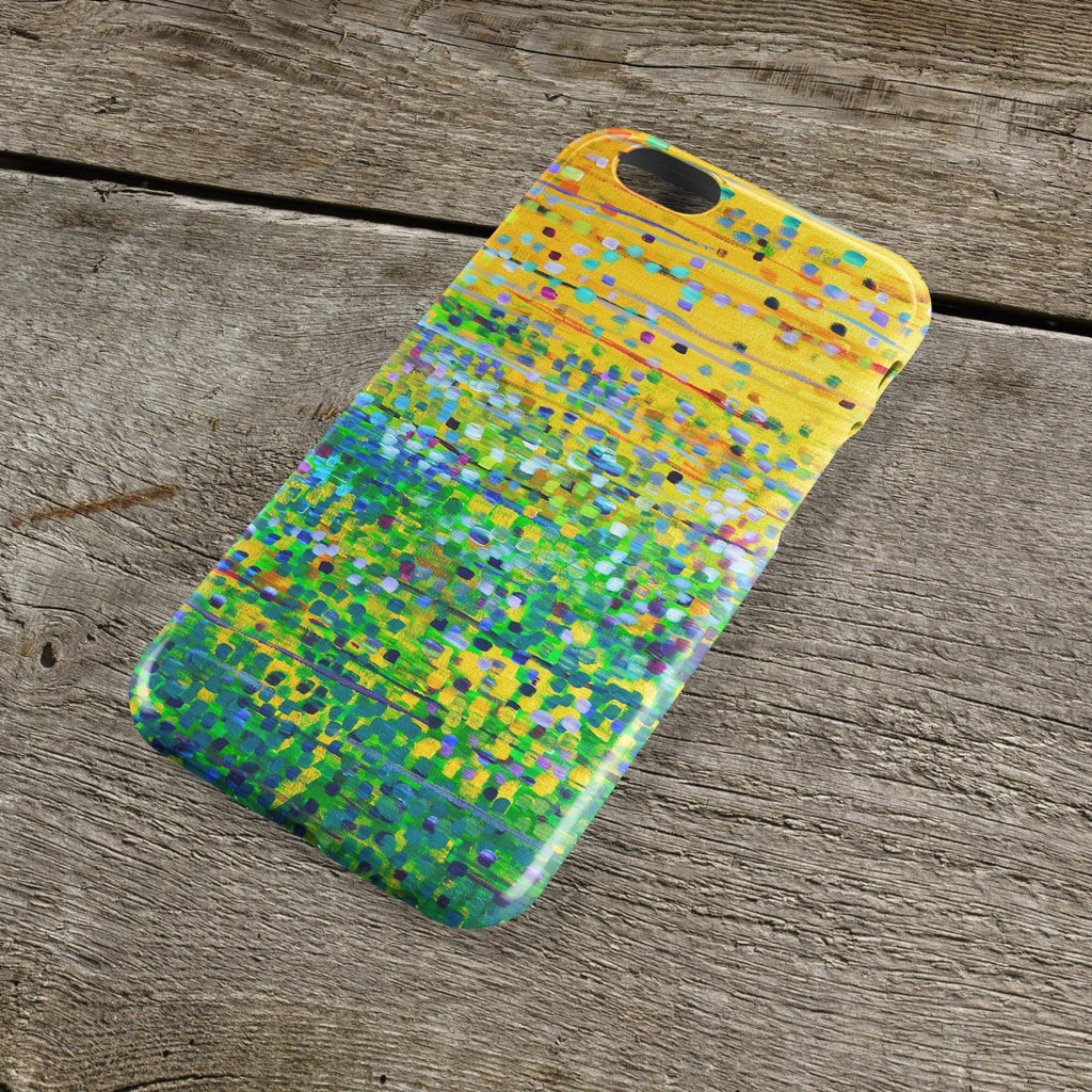 We Plough the Fields iPhone Case - Louise Mead