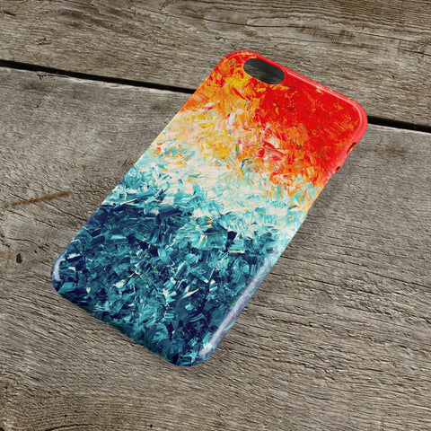 The Wave iPhone Case - Louise Mead