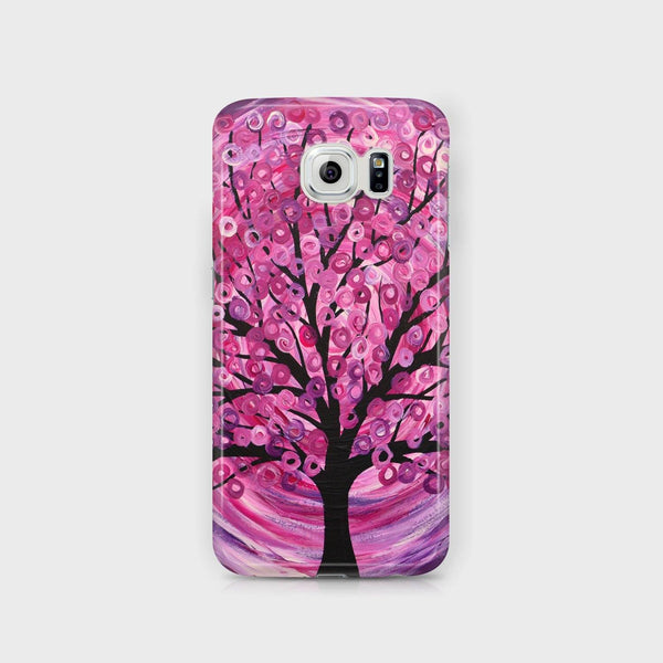 Raspberry Tree Samsung Case - Louise Mead