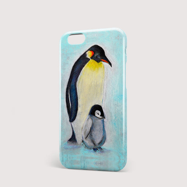 Penguins iPhone Case - Louise Mead