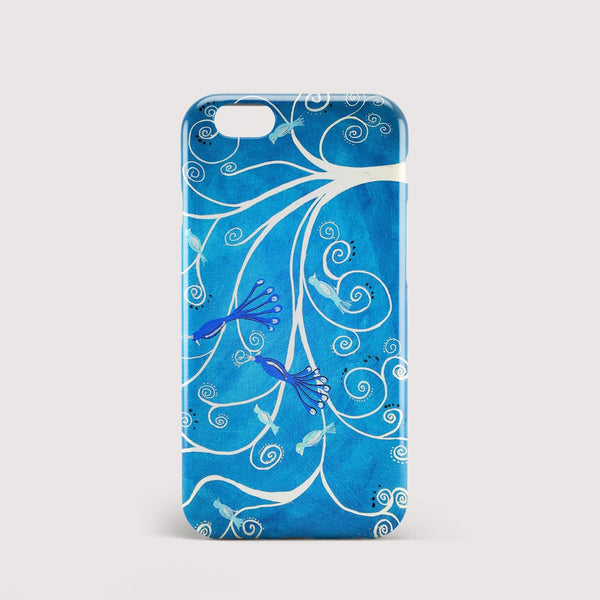 Peacocks iPhone Case - Louise Mead