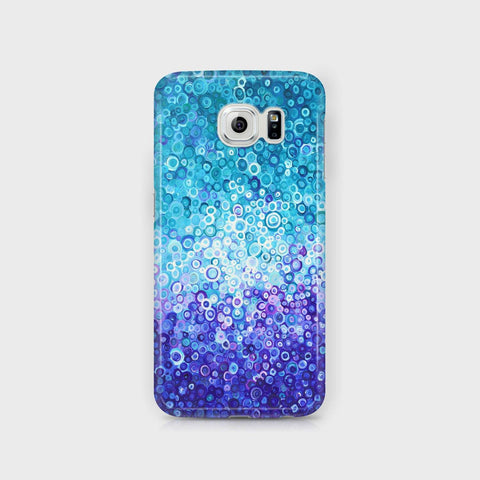 Blue & White Samsung Case - Louise Mead