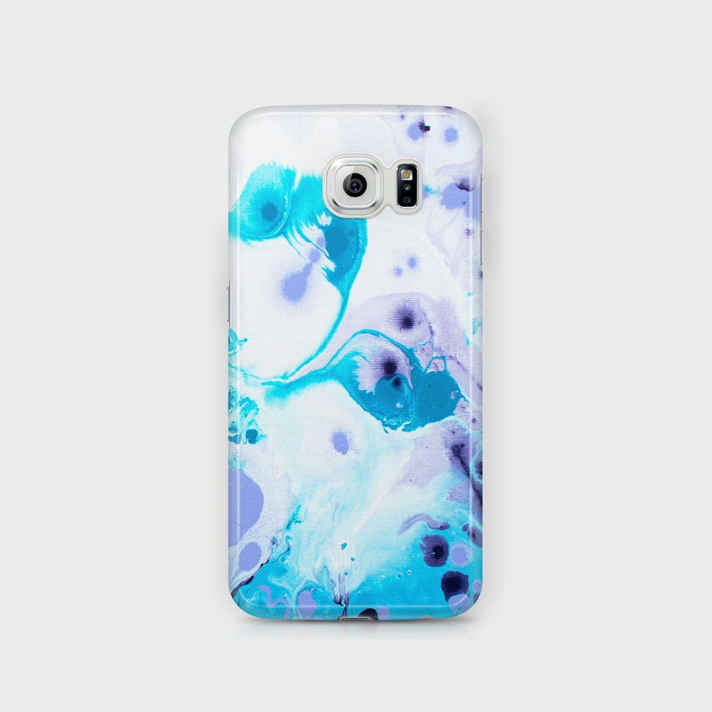 Lilac & Blue Samsung Case - Louise Mead