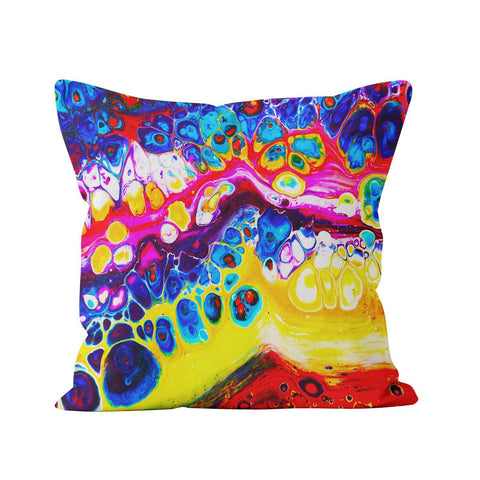 Abstract Square Pillow - Louise Mead