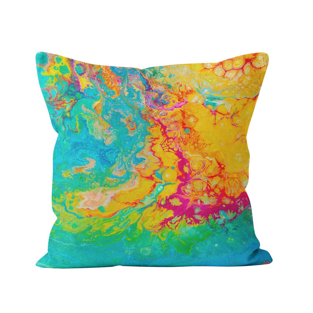 Rainbow Cushion - Louise Mead