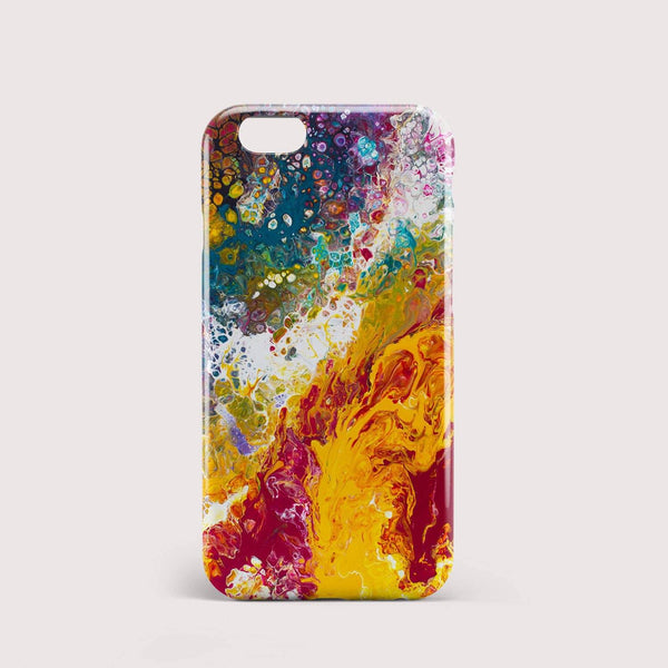 Bliss Abstract iPhone Case - Louise Mead