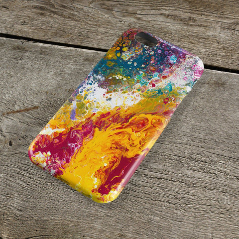 Bliss Abstract iPhone Case