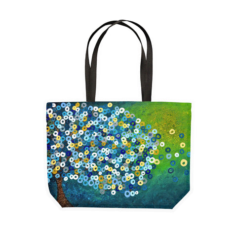 Still Night Canvas Tote - Louise Mead