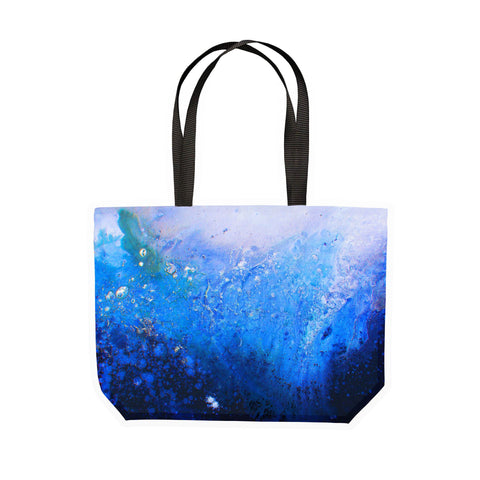 Blue Ombre Canvas Tote - Louise Mead