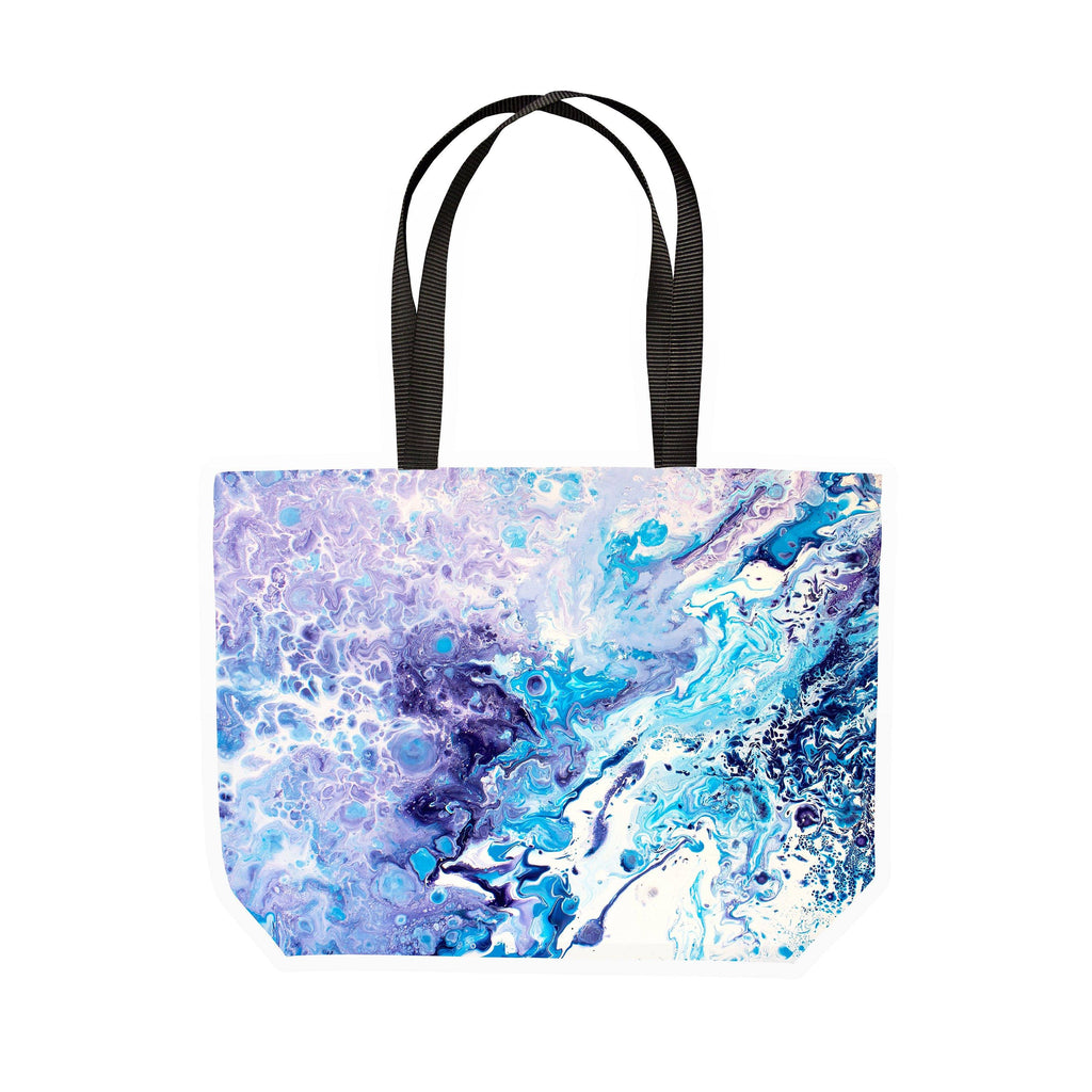 Blue & White Canvas Tote - Louise Mead