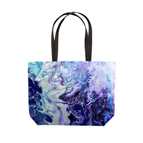 Amethyst Canvas Tote - Louise Mead