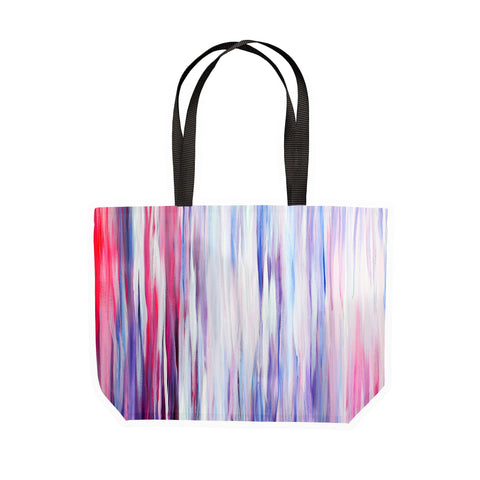Candy Stripes Canvas Tote - Louise Mead