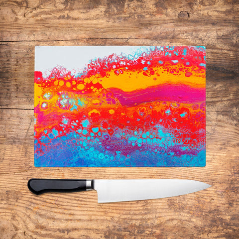 Sway Glass Chopping Board - Louise Mead