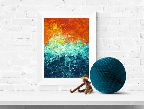 'The Wave' Wall Art Print - Louise Mead