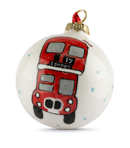 London Bus bauble, available at Harrods