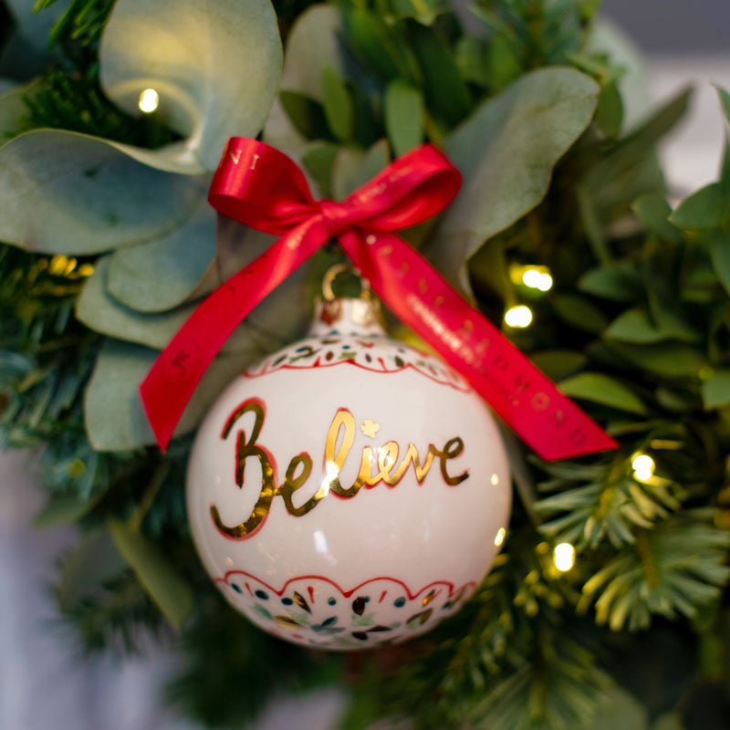 Christmas Bauble - Believe