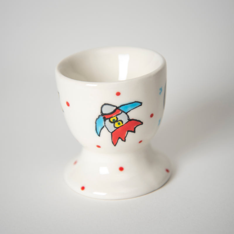 Space Explorer Egg Cup