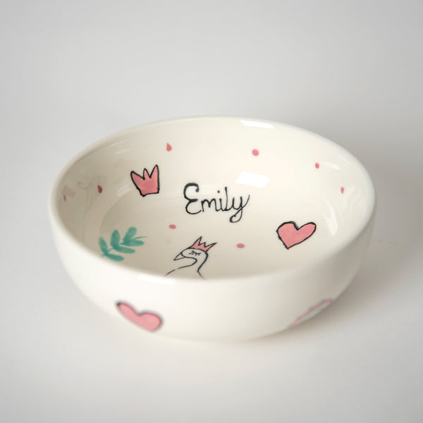 Swan Princess Bowl