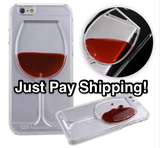 iPhone Cases for Wine Lovers - Free + Shipping