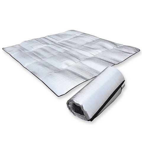 Foldable Aluminum Foil Mat - Camping and Outdoors