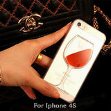 Attention Wine Lovers! Red Wine iPhone Case for 4 4S 5 5S SE 6 6S 6Plus 6SPlus