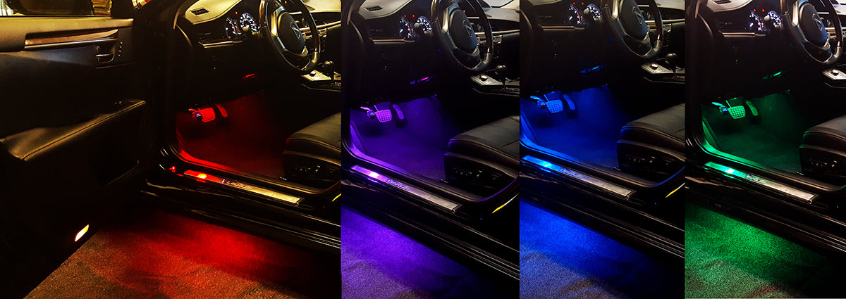 Underbody and Under Dash LEDs