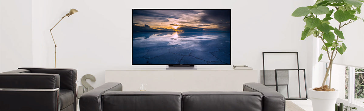 Sony 4K TV in a living room