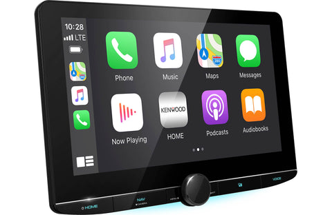 Apple CarPlay on large screen