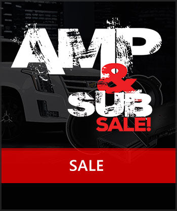 Amp and Sub Sale | Freeman's Car Stereo – tagged