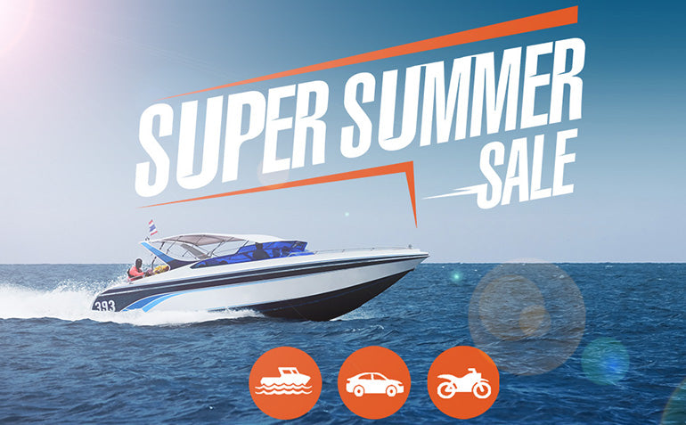 Super Summer Sale - Boat on the Water