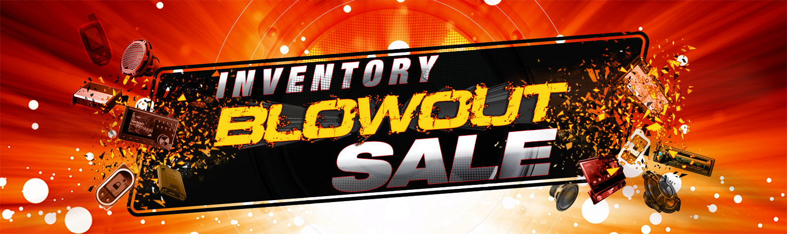 Inventory Blowout Banner