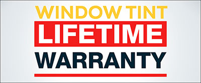 Window Tint Lifetime Warranty