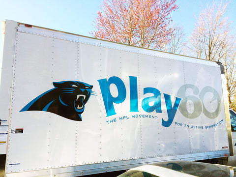 Carolina Panthers Play 60 Van by Freeman's Car Stereo