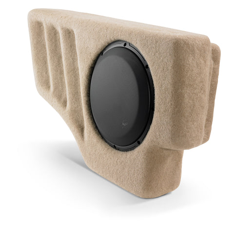 Tan Subwoofer Stealthbox with JL Audio Subwoofer in it
