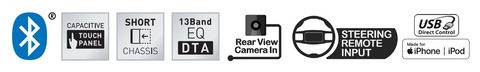 Kenwood DMX125BT Product Features
