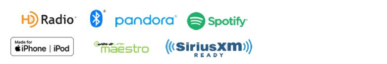 HD Radio, Bluetooth, Spotify, Works with iPod iPhone, SiriusXM, idatalink Maestro