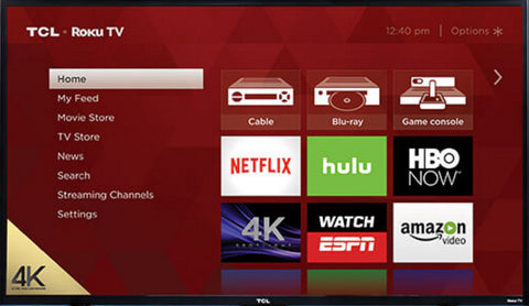 Roku Sample Screen