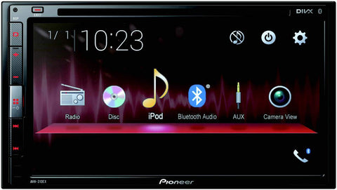 "Pioneer AVIC-5201NEX In-Dash Navigation AV Receiver with 6.2"" WVGA Touchscreen Display"