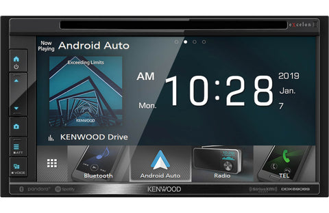 "Kenwood DMX125BT 6.8"" Digital Multimedia Receiver"