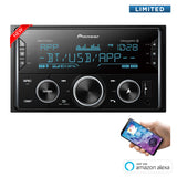 Pioneer MVH-S622BS Double Din Bluetooth Digital Media Receiver - Freeman's Car Stereo