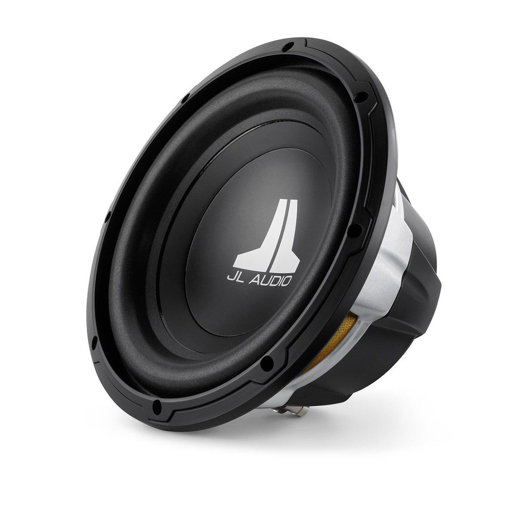 JL AUDIO 10W0v3-4 - W0v3 10-inch Subwoofer Driver (300 W, 4 Ω) - Freeman's Car Stereo