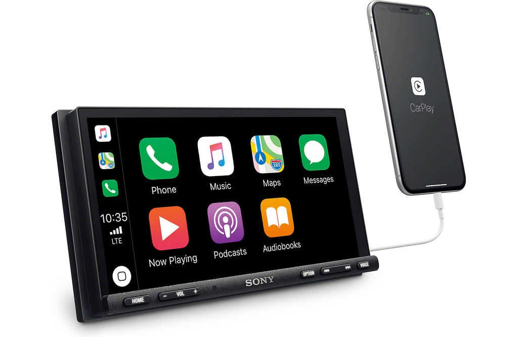 "Sony XAV-AX7000 6.95"" Apple CarPlay & Android Auto Digital Media Receiver - Freeman's Car Stereo"