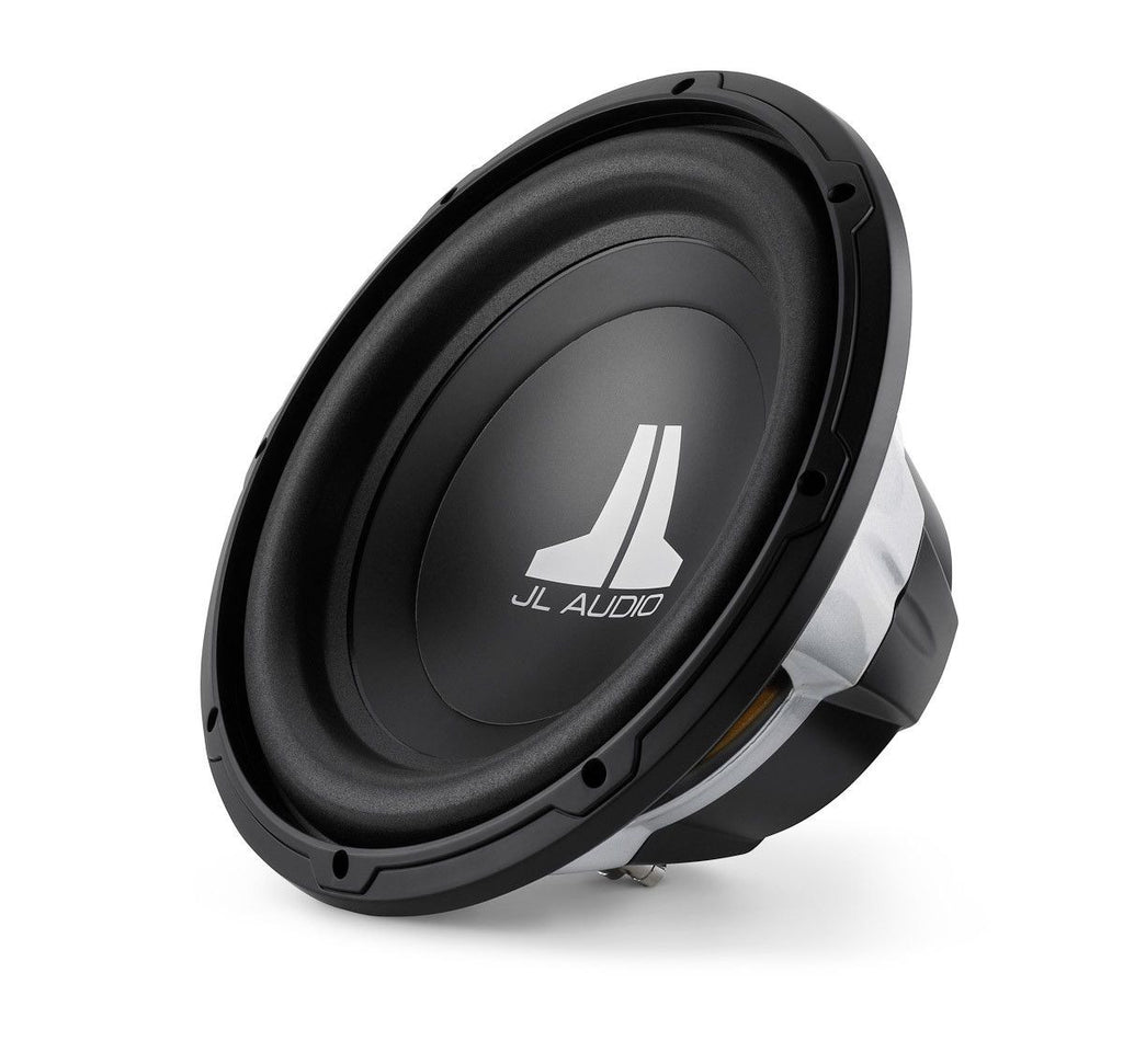 JL AUDIO 12W0v3-4 - W0v3 12-inch Subwoofer Driver (300 W, 4 Ω) - Freeman's Car Stereo